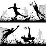 Ποδόσφαιρο Στοκ Εικόνα