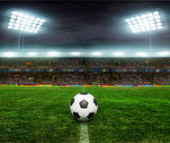 Ποδόσφαιρο bal ποδόσφαιρο, Στοκ φωτογραφία με δικαίωμα ελεύθερης χρήσης