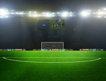 Ποδόσφαιρο bal ποδόσφαιρο, Στοκ Φωτογραφίες
