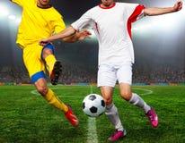 Ποδόσφαιρο bal ποδόσφαιρο, Στοκ Φωτογραφία