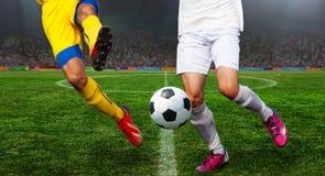 Ποδόσφαιρο bal Ποδόσφαιρο Στοκ φωτογραφίες με δικαίωμα ελεύθερης χρήσης