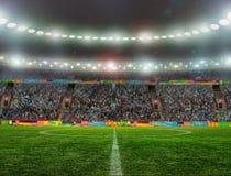 Ποδόσφαιρο bal.football, Στοκ Εικόνα