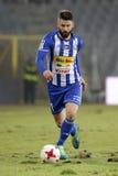 Ποδόσφαιρο: Korona Kielce - Wisla Plock Στοκ Εικόνες