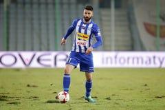 Ποδόσφαιρο: Korona Kielce - Wisla Plock Στοκ φωτογραφίες με δικαίωμα ελεύθερης χρήσης