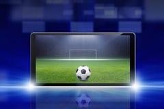 Ποδόσφαιρο on-line Στοκ Φωτογραφίες