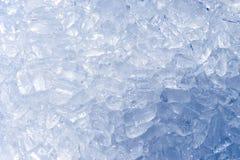 πολύς σωλήνας πάγου για τρώει και δροσίζει την κατανάλωση με το νερό στο β Στοκ εικόνα με δικαίωμα ελεύθερης χρήσης