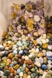 Πολύτιμοι λίθοι και απολιθώματα στο φεστιβάλ της Ανατολής στη Ρώμη Ιταλία Στοκ φωτογραφία με δικαίωμα ελεύθερης χρήσης