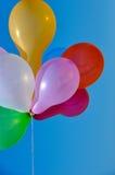 Πολύχρωμα λαστιχένια μπαλόνια Στοκ Εικόνες