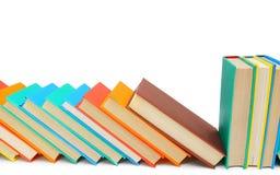 Πολύχρωμα βιβλία Στοκ Φωτογραφίες