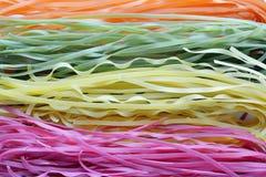 Πολύχρωμα ζυμαρικά άψητα Στοκ Εικόνες