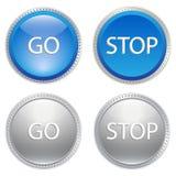 Πολύχρωμα κουμπιά Στοκ φωτογραφίες με δικαίωμα ελεύθερης χρήσης