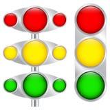 Πολύχρωμα κουμπιά Στοκ εικόνα με δικαίωμα ελεύθερης χρήσης