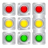 Πολύχρωμα κουμπιά Στοκ φωτογραφία με δικαίωμα ελεύθερης χρήσης