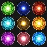 Πολύχρωμα κουμπιά Στοκ Εικόνες