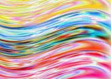 Πολύχρωμα κύματα ελεύθερη απεικόνιση δικαιώματος