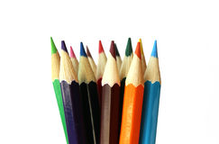 Πολύχρωμα μολύβια Στοκ φωτογραφία με δικαίωμα ελεύθερης χρήσης