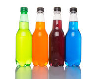 Πολύχρωμα ποτά Ι σόδας Στοκ Εικόνες