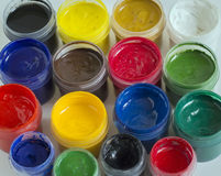 Πολύχρωμα χρώματα για τις εικόνες σχεδίων στοκ φωτογραφίες με δικαίωμα ελεύθερης χρήσης