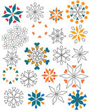 Πολύχρωμες μορφές Στοκ εικόνες με δικαίωμα ελεύθερης χρήσης