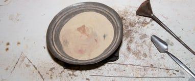 Πολύχρωμη άμμος για τα παραδοσιακά αναμνηστικά στην Ιορδανία Στοκ φωτογραφία με δικαίωμα ελεύθερης χρήσης