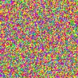 Πολύχρωμη άνευ ραφής κυβική σύσταση διάνυσμα τυχαίος Στοκ εικόνες με δικαίωμα ελεύθερης χρήσης