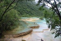 Πολύχρωμη λίμνη στοκ εικόνα με δικαίωμα ελεύθερης χρήσης
