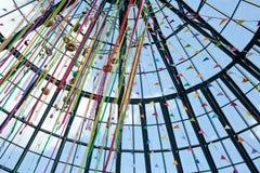 Πολύχρωμη διακόσμηση Πάσχας Στοκ εικόνες με δικαίωμα ελεύθερης χρήσης