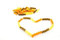 Πολύχρωμα ζυμαρικά Στοκ φωτογραφία με δικαίωμα ελεύθερης χρήσης
