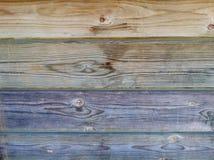 Πολύχρωμη ξύλινη σύσταση Στοκ Φωτογραφία