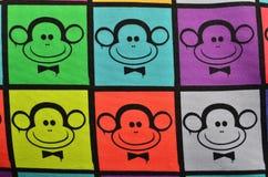 Πολύχρωμοι πίθηκοι Στοκ φωτογραφίες με δικαίωμα ελεύθερης χρήσης