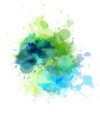 Πολύχρωμος λεκές διανυσματική απεικόνιση
