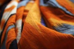 Πολύχρωμος στενός επάνω υφάσματος χρώματος Στοκ φωτογραφία με δικαίωμα ελεύθερης χρήσης