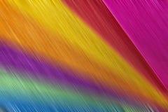 Βουρτσισμένο μέταλλο πολύχρωμο Στοκ εικόνες με δικαίωμα ελεύθερης χρήσης