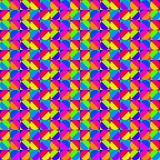Πολύχρωμο γεωμετρικό σχέδιο διανυσματική απεικόνιση