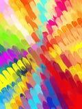 Πολύχρωμο διαγώνιο υπόβαθρο κτυπημάτων βουρτσών Αμερικανός διακοσμεί διανυσματική έκδοση συμβόλων σχεδίου την πατριωτική καθορισμ Στοκ φωτογραφία με δικαίωμα ελεύθερης χρήσης
