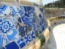 Πολύχρωμο κεραμίδι μωσαϊκών γυαλιού Στοκ Εικόνες