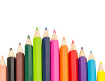 Πολύχρωμο μολύβι Στοκ Εικόνα