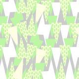 Πολύχρωμο χαριτωμένο γεωμετρικό σχέδιο υποβάθρου μωσαϊκών αναδρομικό απεικόνιση αποθεμάτων