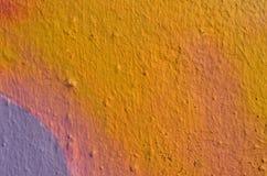 Πολύχρωμο χρώμα γκράφιτι τοίχων Στοκ εικόνα με δικαίωμα ελεύθερης χρήσης