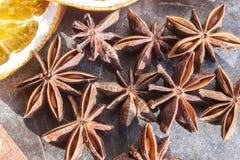 Πολύ αστέρι anises Στοκ εικόνες με δικαίωμα ελεύθερης χρήσης