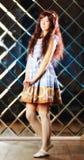 Πολύ ευγενές όμορφο κορίτσι στο ύφος ενός anime Στοκ εικόνες με δικαίωμα ελεύθερης χρήσης