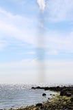 Πολύ μικρός ανεμοστρόβιλος Στοκ φωτογραφία με δικαίωμα ελεύθερης χρήσης