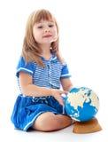 Πολύ νέο μικρό κορίτσι Στοκ φωτογραφίες με δικαίωμα ελεύθερης χρήσης