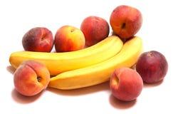 Πολύ νόστιμο μπανάνα-ροδάκινο natyutmotr Στοκ εικόνα με δικαίωμα ελεύθερης χρήσης