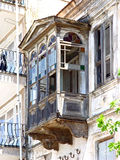 Πολύ παλαιό μπαλκόνι Στοκ εικόνες με δικαίωμα ελεύθερης χρήσης