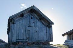 Πολύ παλαιό boathouse Στοκ Εικόνες