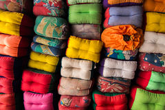 Πολύ χέρι - γίνοντα μαξιλάρια Στοκ Εικόνες