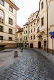 Πράγα, Δημοκρατία της Τσεχίας, στις 22 Απριλίου 2019 - οδοί της παλαιάς πόλης στην Πράγα στοκ εικόνες με δικαίωμα ελεύθερης χρήσης