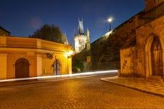 Πράγα, Δημοκρατία της Τσεχίας, στις 22 Απριλίου 2019 - οδοί της παλαιάς πόλης στην Πράγα στοκ φωτογραφία με δικαίωμα ελεύθερης χρήσης