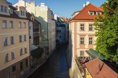 Πράγα, Δημοκρατία της Τσεχίας, στις 22 Απριλίου 2019 - οδοί της παλαιάς πόλης στην Πράγα, Πράγα Βενετία στοκ εικόνα με δικαίωμα ελεύθερης χρήσης
